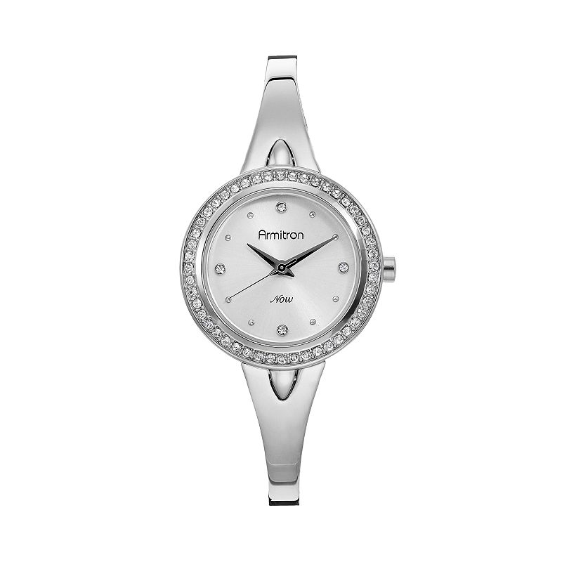 Armitron Women's Half-Bangle Watch - 75/5238SVSV