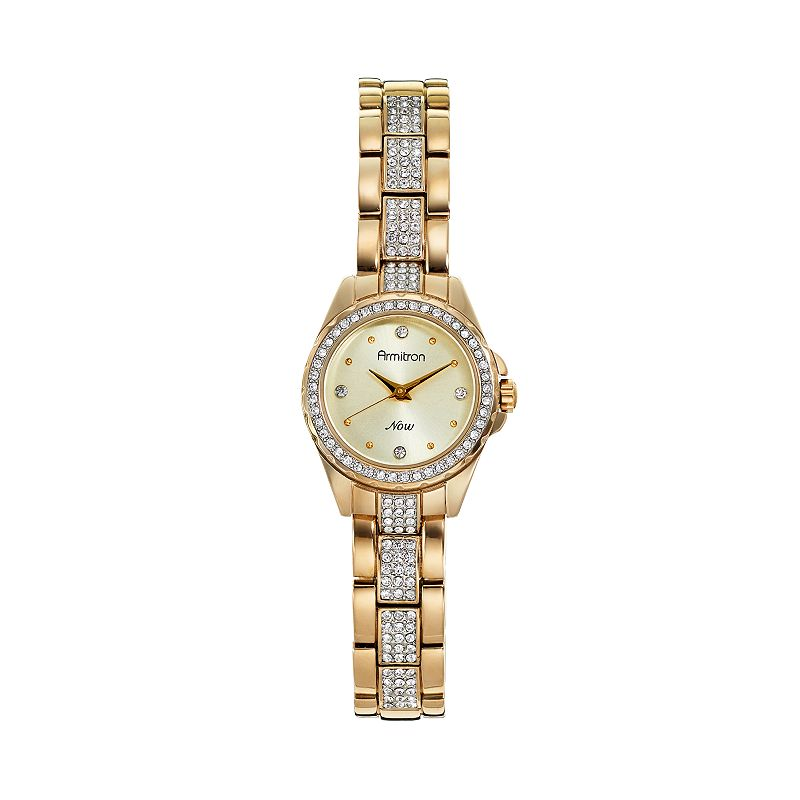 Armitron Women's Crystal Watch - 75/5250CHGP