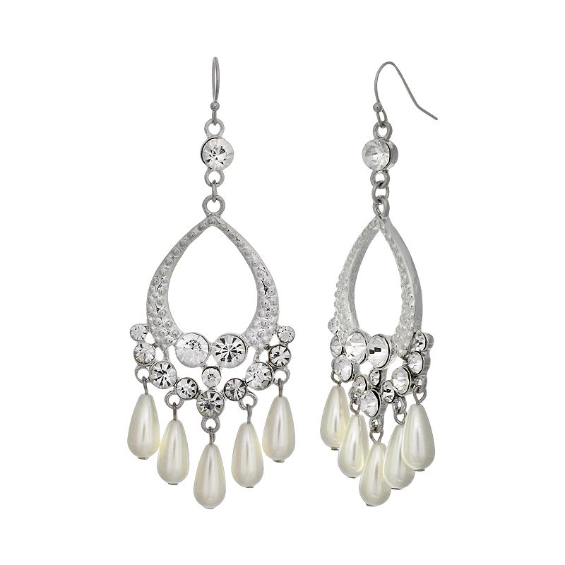 Crystal Allure Chandelier Earrings