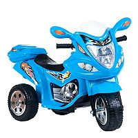 Lil' Rider Blue Baron Motorized Motorcycle Trike Ride-On