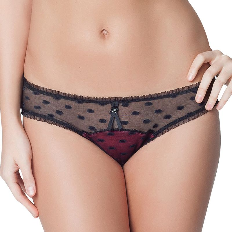 Parfait by Affinitas Kitty Lace Thong 2141