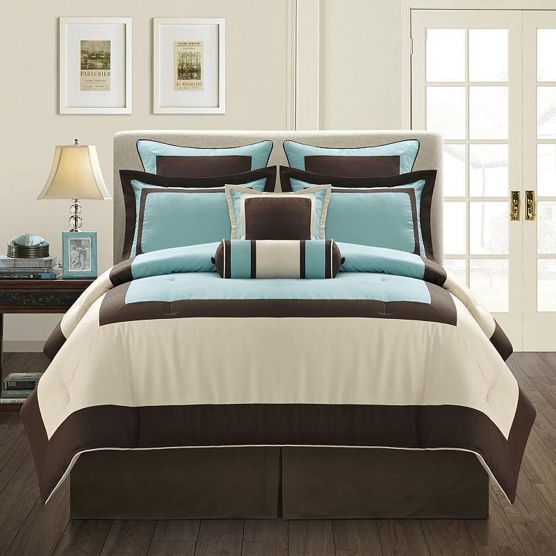 Gramercy Blue 12-pc. Bed Set