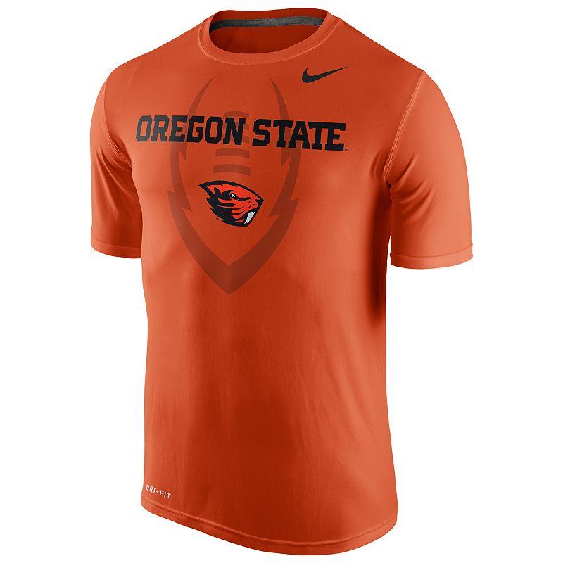 Men's Nike Oregon State Beavers Legend Football Icon Dri-FIT Performance Tee