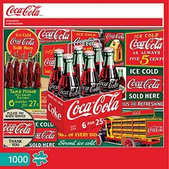 Buffalo Games 1000-pc. Coke Evergreen Jigsaw Puzzle by