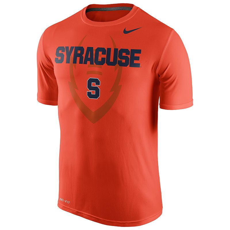 Men's Nike Syracuse Orange Legend Football Icon Dri-FIT Performance Tee