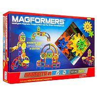 Magformers Magnets in Motion 61-pc. Gear Set