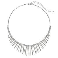 Franco Gia Stick Bib Necklace