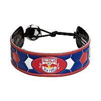 GameWear New York Red Bulls Leather Soccer Bracelet
