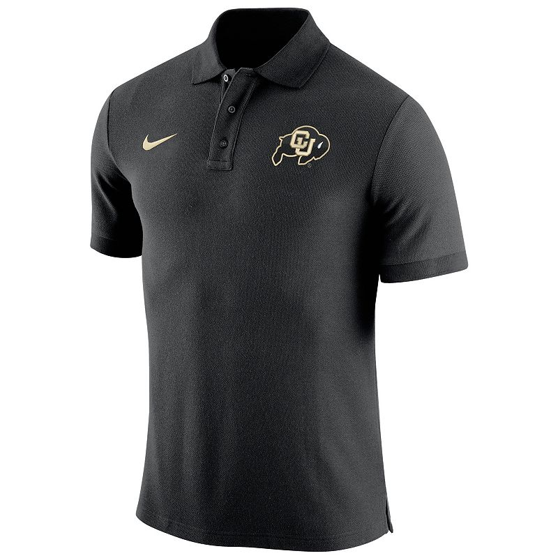 Men's Nike Colorado Buffaloes Stadium Pique Polo