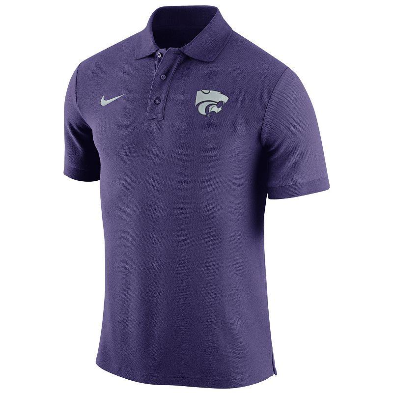 Men's Nike Kansas State Wildcats Stadium Pique Polo