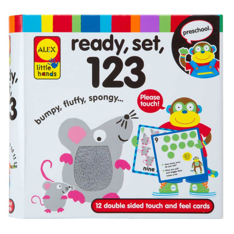 Alex Ready, Set, 123 Learning Flash Cards, Multicolor thumbnail