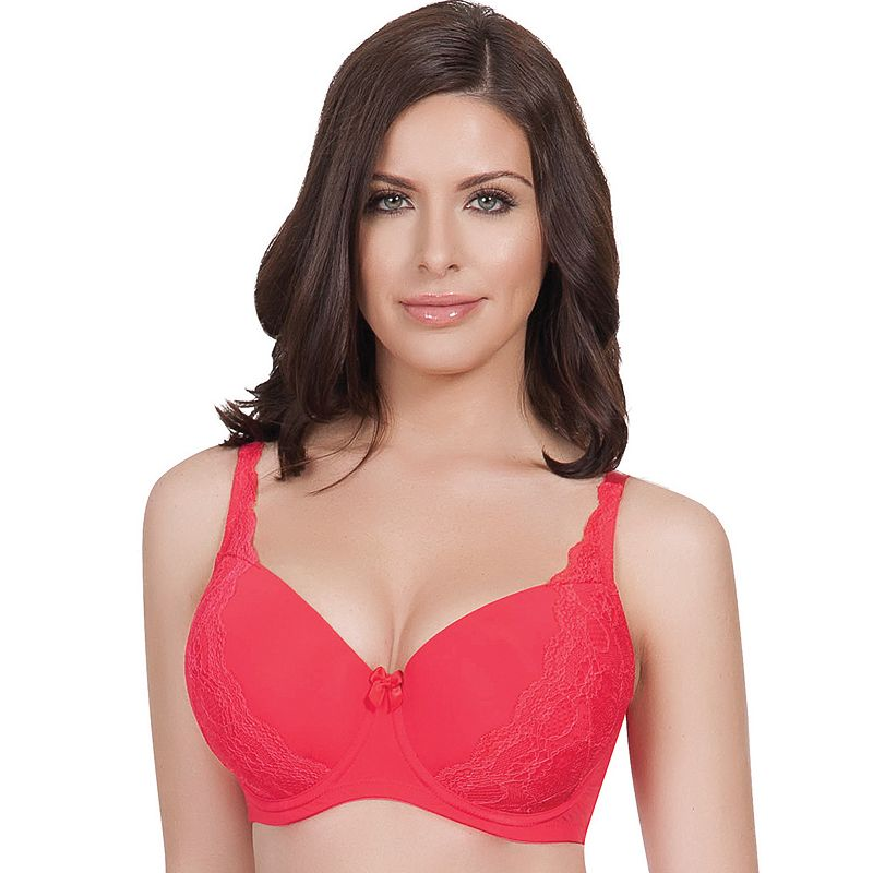 Parfait by Affinitas Bra: Carole Lace Contour Full-Figure Bra 3101 - Women's