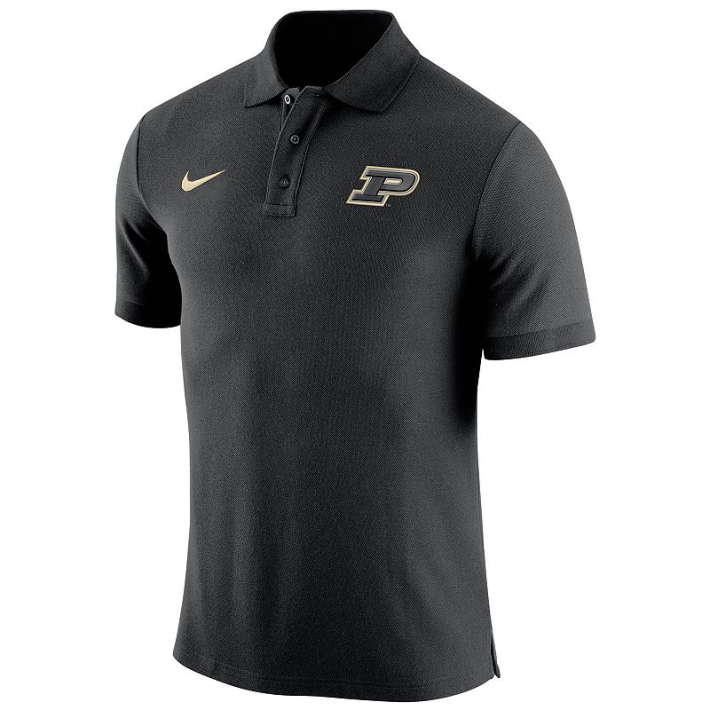 Men's Nike Purdue Boilermakers Stadium Pique Polo