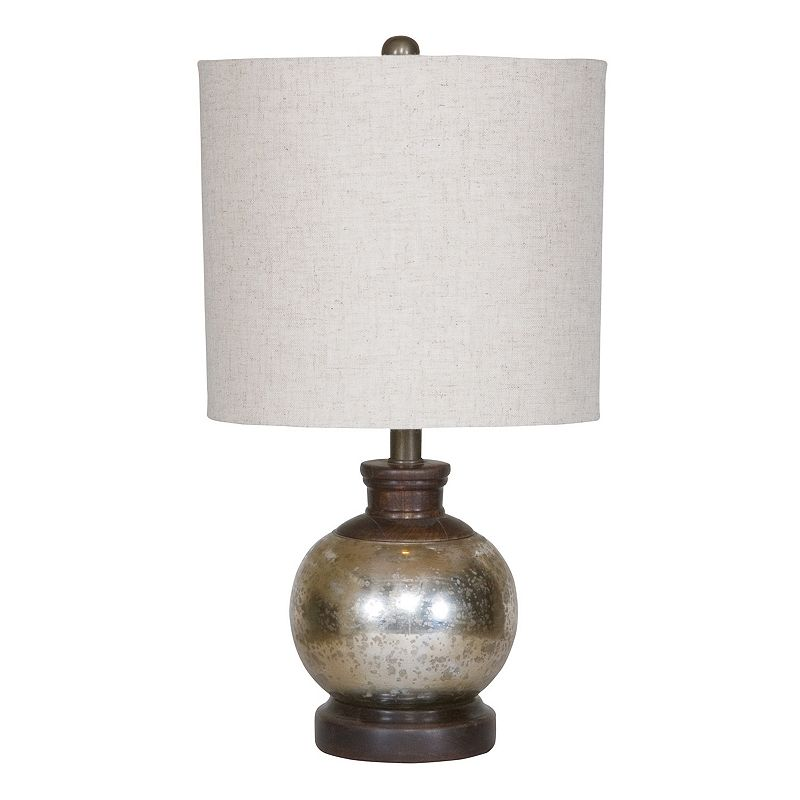 Arago Mercury Glass Table Lamp