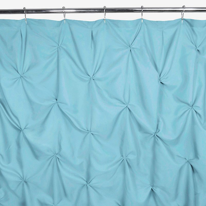 Park B. Smith Watershed Pouf Water-Repellent Fabric Shower Curtain