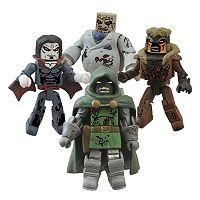 Marvel Zombie Villain Minimates 4-pk. Mini Action Figures by Diamond Select Toys