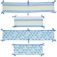 Sumersault Dog Crib Bumper