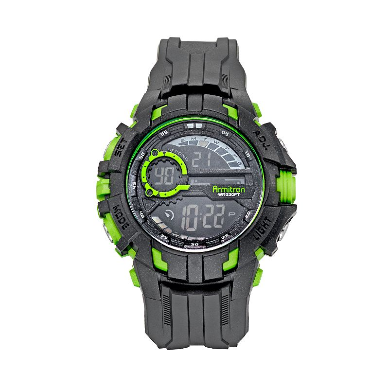 Armitron Men's Digital Chronograph Watch - 40/8335LGN