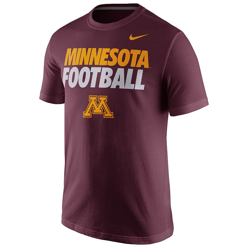 Men's Nike Minnesota Golden Gophers Practice Tee