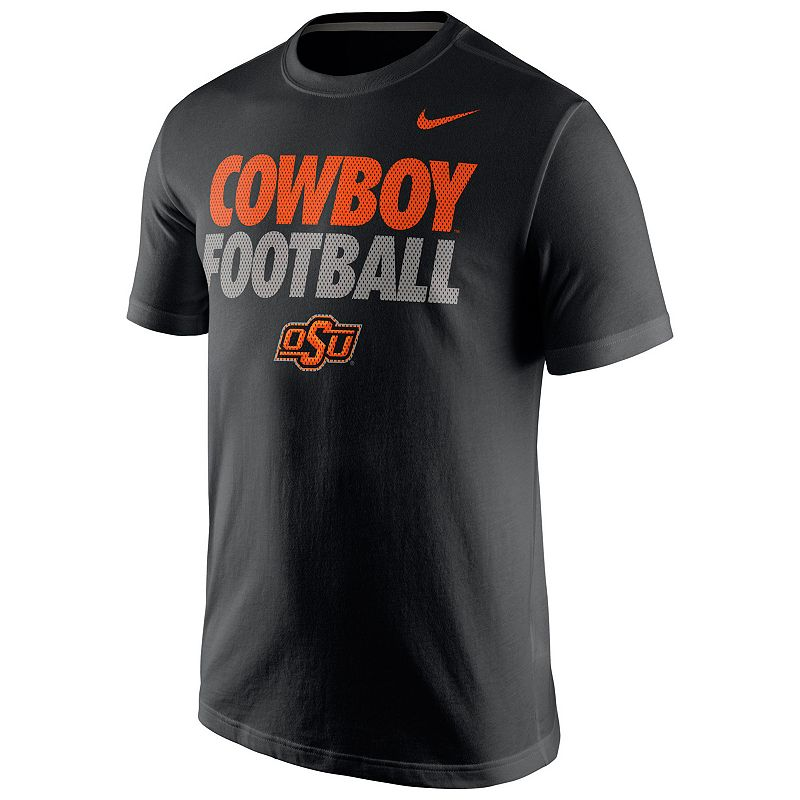 Men's Nike Oklahoma State Cowboys Legend Staff Dri-FIT Practice Tee