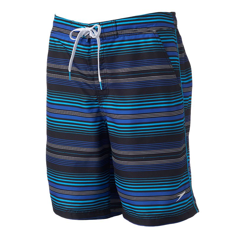 Men's Speedo Striped E-Board Shorts