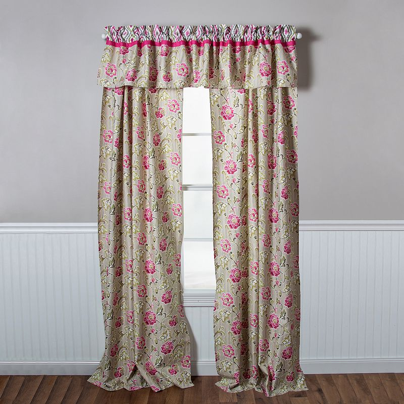 Trend Lab Waverly Jazzberry Curtain Panel