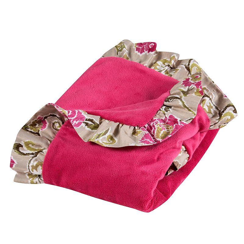 Trend Lab Waverly Jazzberry Receiving Blanket