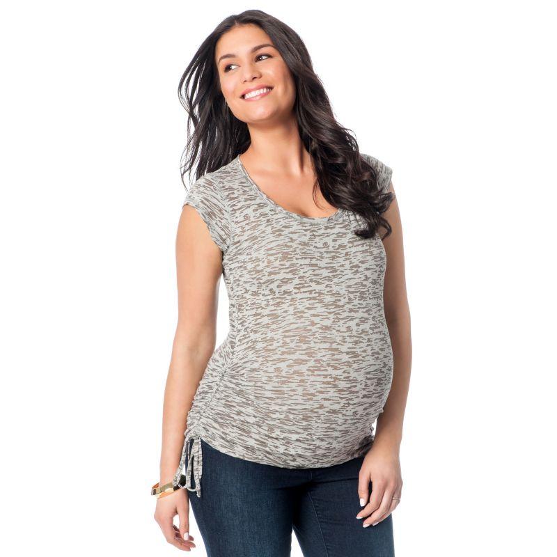 Cotton Maternity Tee   Kohl's