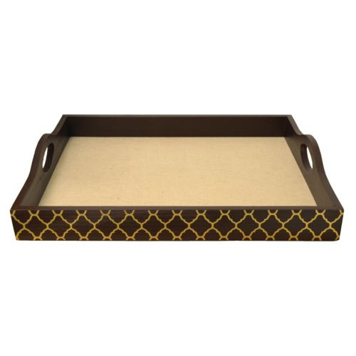 Large Trellis Serving Tray