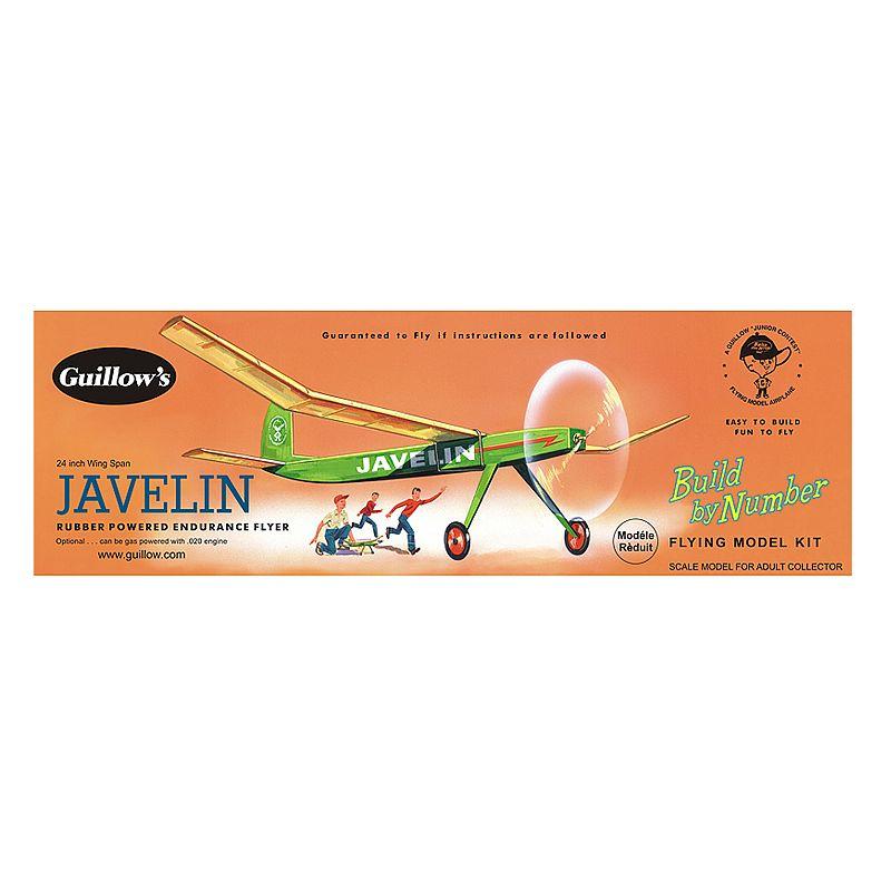 Guillow's Javelin Rubber Powered Endurance Flyer
