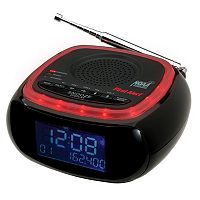 First Alert Weather Band Clock Radio with S.A.M.E. Weather Alert