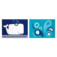 Happy Chic by Jonathan Adler Party Whale 2-pk. Canvas Wall Art