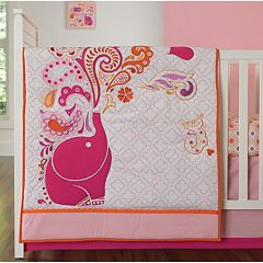 Happy Chic by Jonathan Adler Party Elephant 4-pc. Crib Bedding Set by