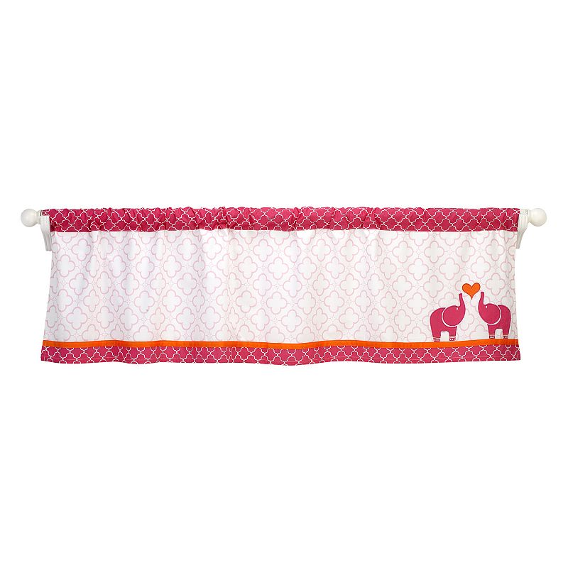 Happy Chic by Jonathan Adler Party Elephant Window Valance