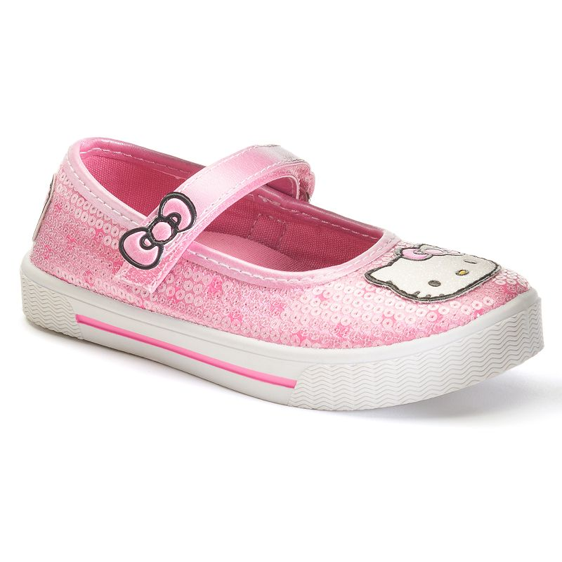 Hello Kitty® Dotty Toddler Girls' Sequin Mary Jane Sneakers