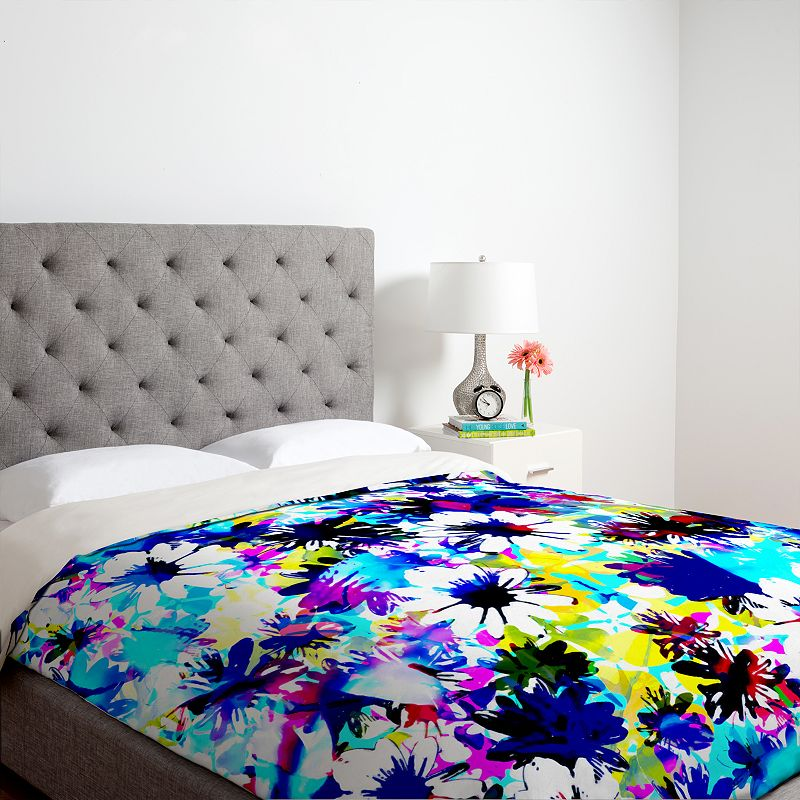 DENY Designs Aimee St. Hill Floral Duvet Cover