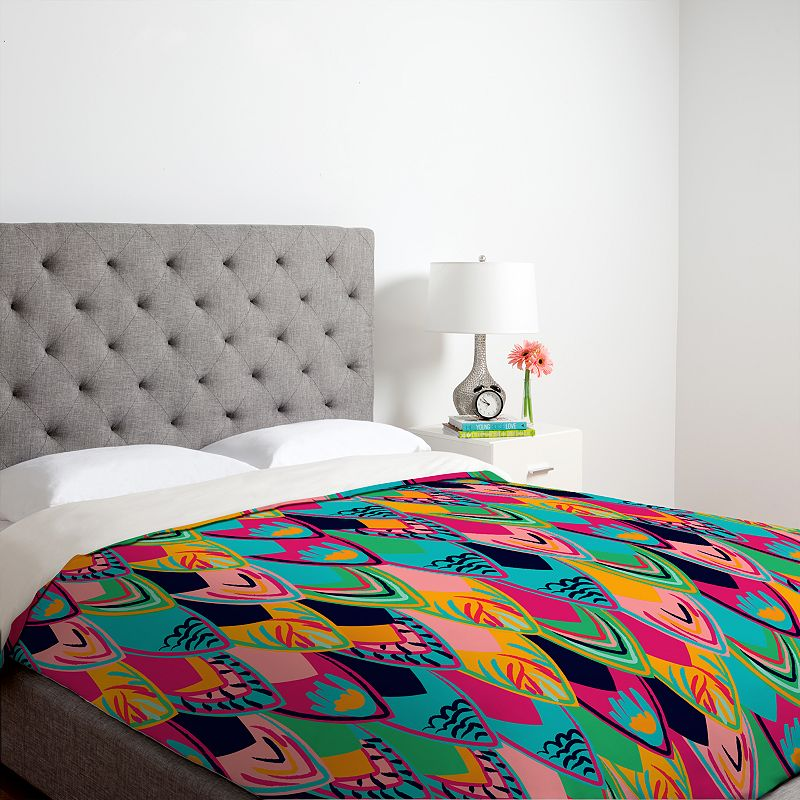 DENY Designs Vy La Love Bird Duvet Cover