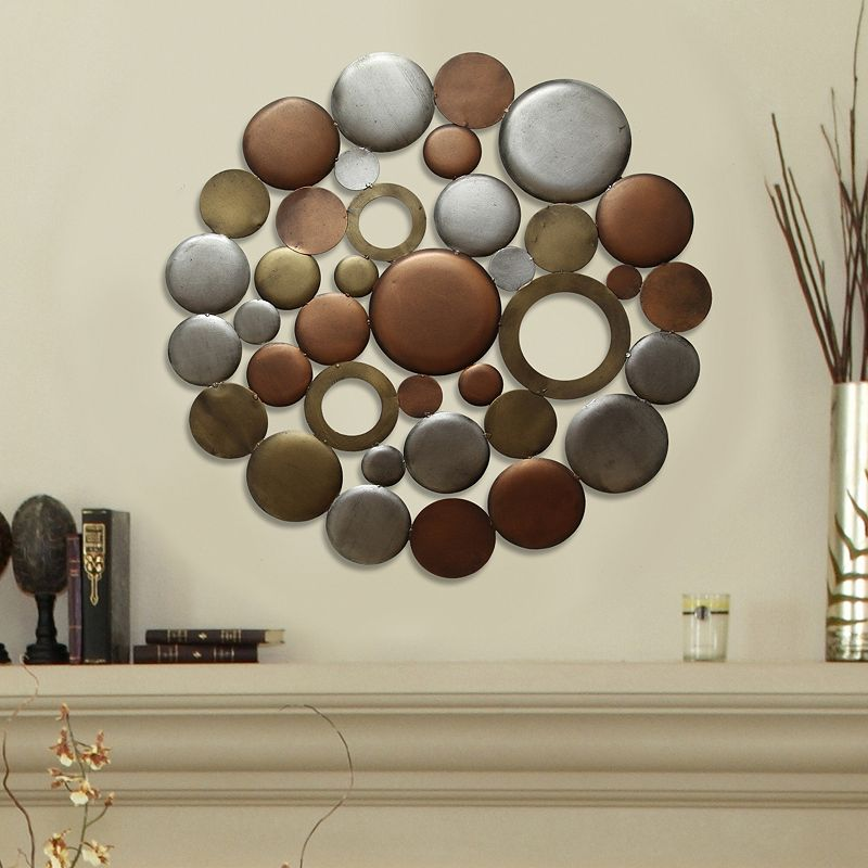 Stratton Home Decor Circle Burst Wall Decor