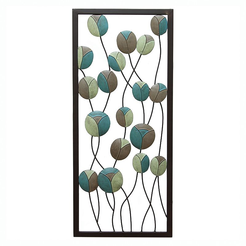 Stratton Home Decor Mod Flowers Panel II Wall Decor