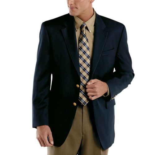 Chaps Wool-Blend 2-Button Blazer - Men