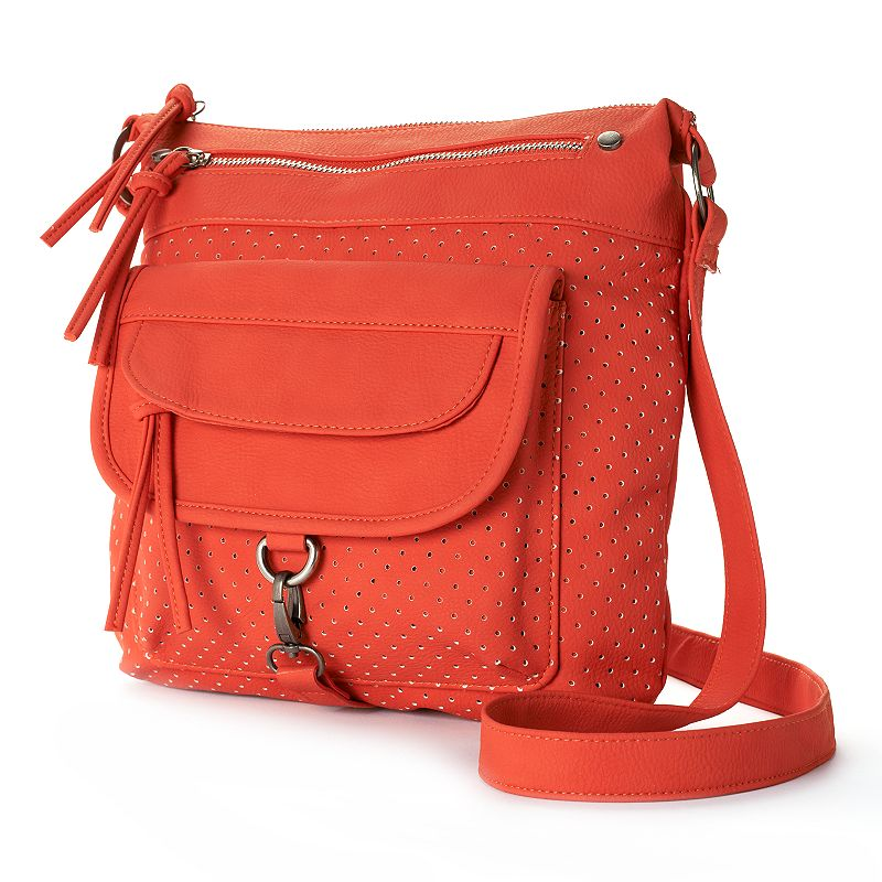 Dolce Girl Perforated Crossbody Bag