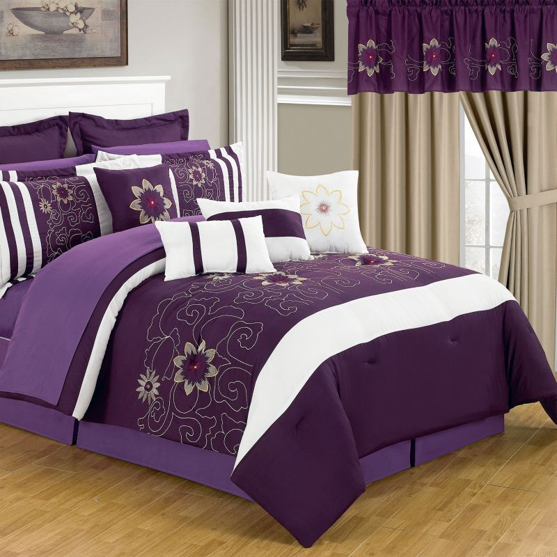 Purple Floral Bedding Kohl S