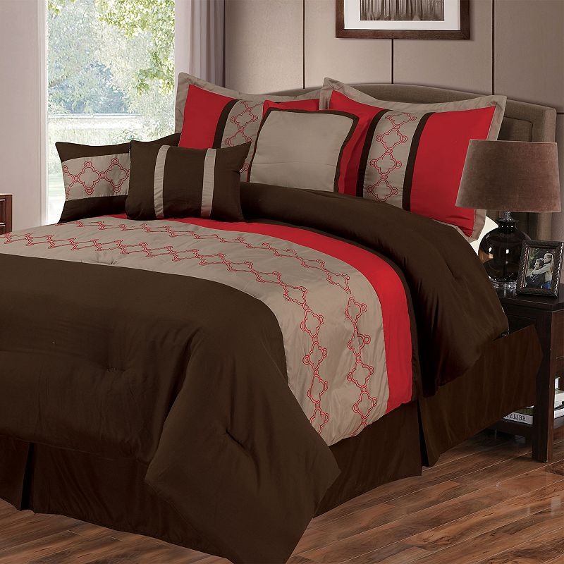 Quincy 7 Pc Comforter Set