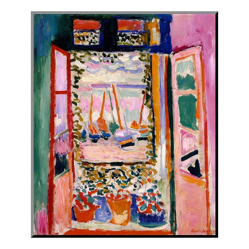 Art.com ''Open Window'' Wood Wall Art by Henri Matisse