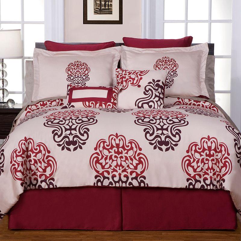 Pointehaven Cherry Blossom 8-pc. Comforter Set