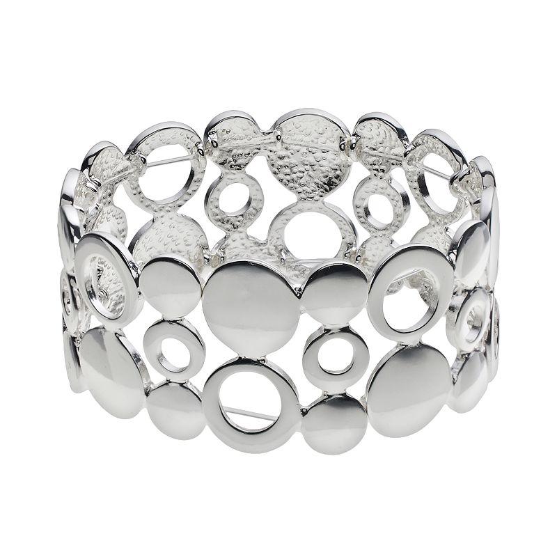 Croft & Barrow® Circle Link Stretch Bracelet