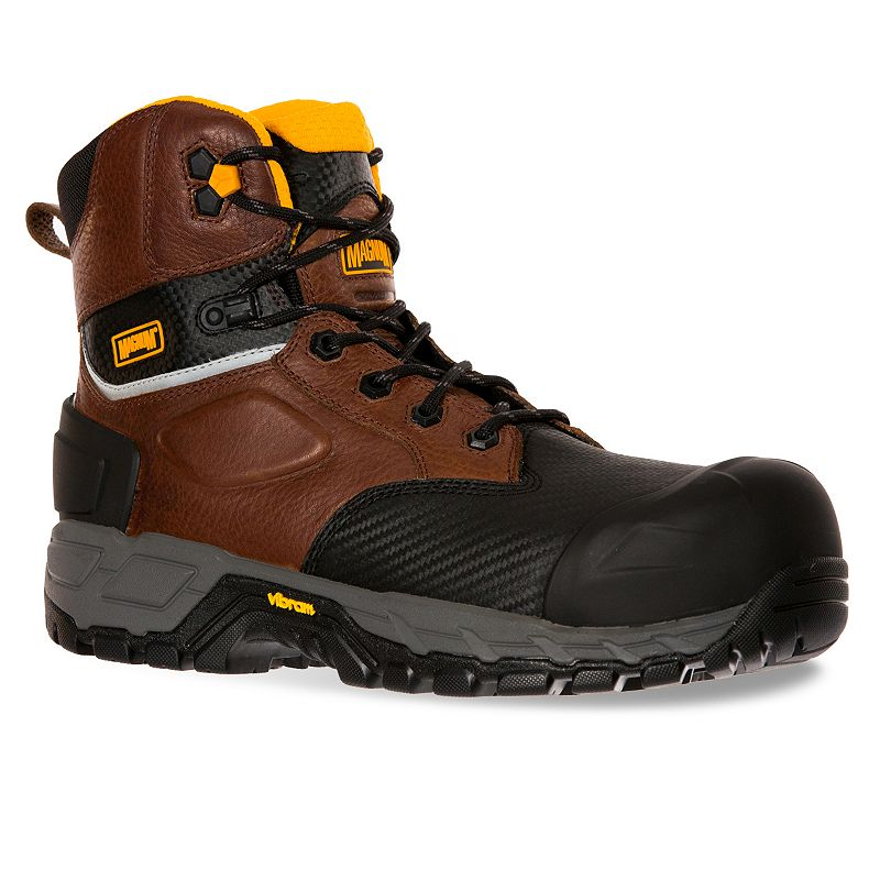 Magnum Halifax 6.0 Men's Waterproof Composite-Toe Work Boots