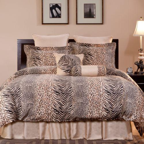 Pointehaven Urban Safari Comforter Set