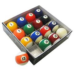 Hathaway Pool Table Regulation Billiard Ball Set