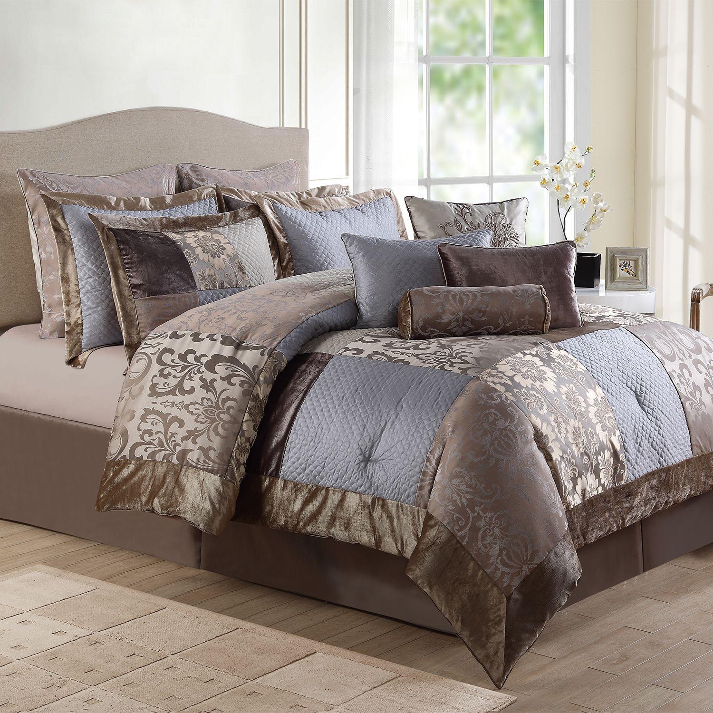 12 piece queen comforter set kohl s